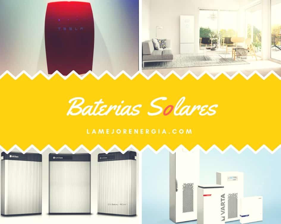 Comparativa de Baterías Solares